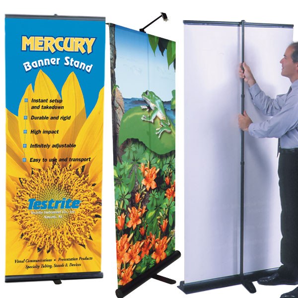 Premium Retractable Banner Stands